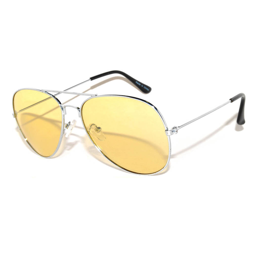 Aviator Yellow Lens