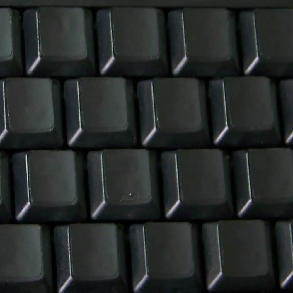 Blank keyboard stickers black to cover letters on keyboard black