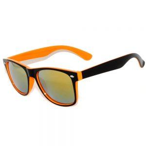 wayfarer-2tone-orange-black-mirror-lense-sunglasses1