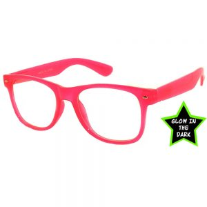 wayfarer-glow-in-the-dark-pink-clear-lense-sunglasses1