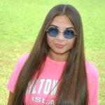 Wholesale Sunglasses 43mm Women's Metal Round Circle Silver Frame Blue Lens