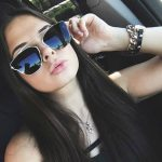 Sunglasses Womens Metal Fashion Silver Frame Silver Mirror