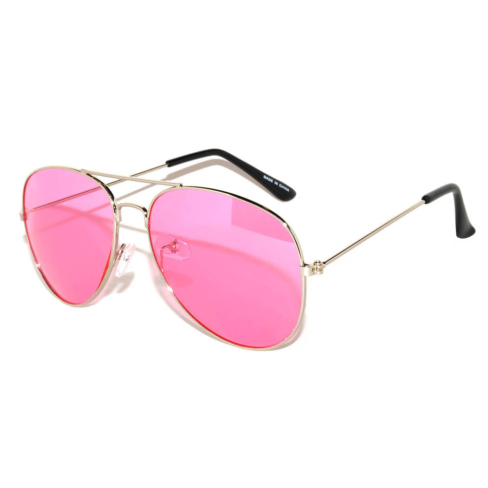 Women's Aviator Pink Lens