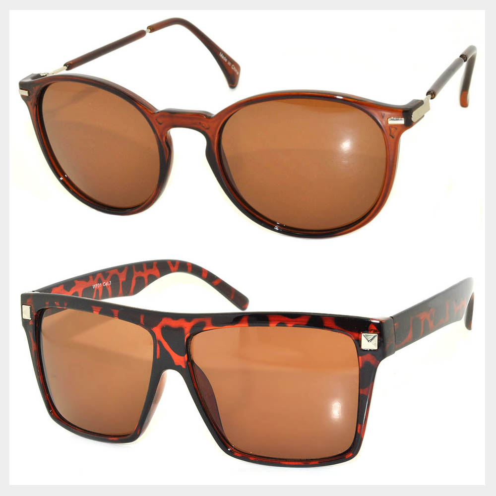 Wholesale Stylish Shades - Brown Lens