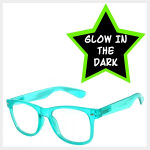 Glow In The Dark Retro Sunglasses