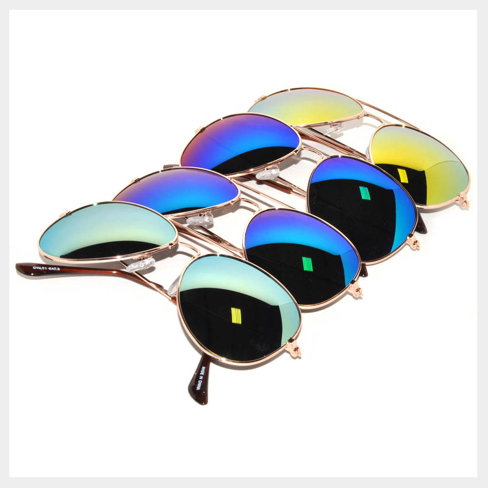 Gold Color Frame Sunglasses Wholesale