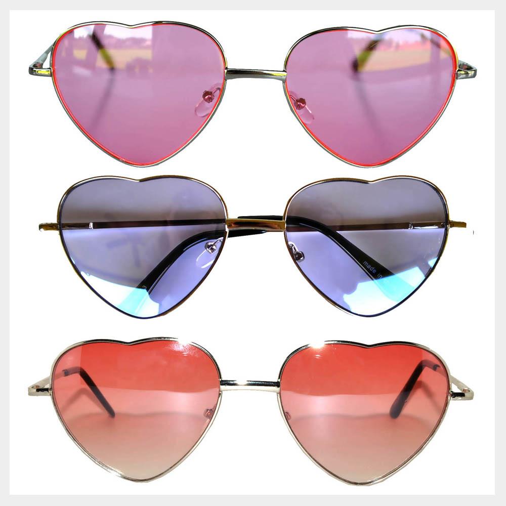 Heart Shaped Sunglasses Wholesale