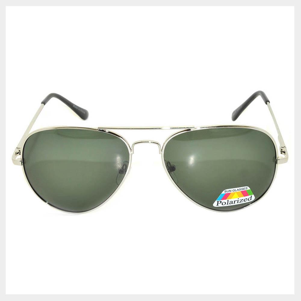 Polarized Lens Classic Aviator Sunglasses
