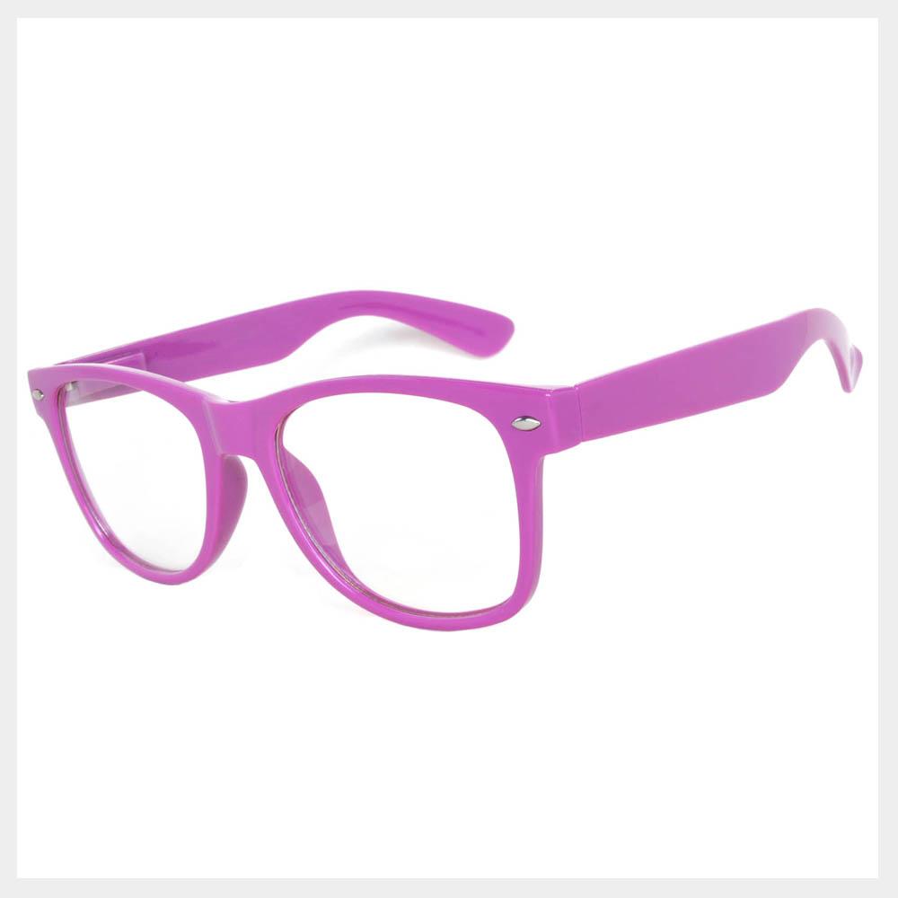 Purple Frame Sunglasses
