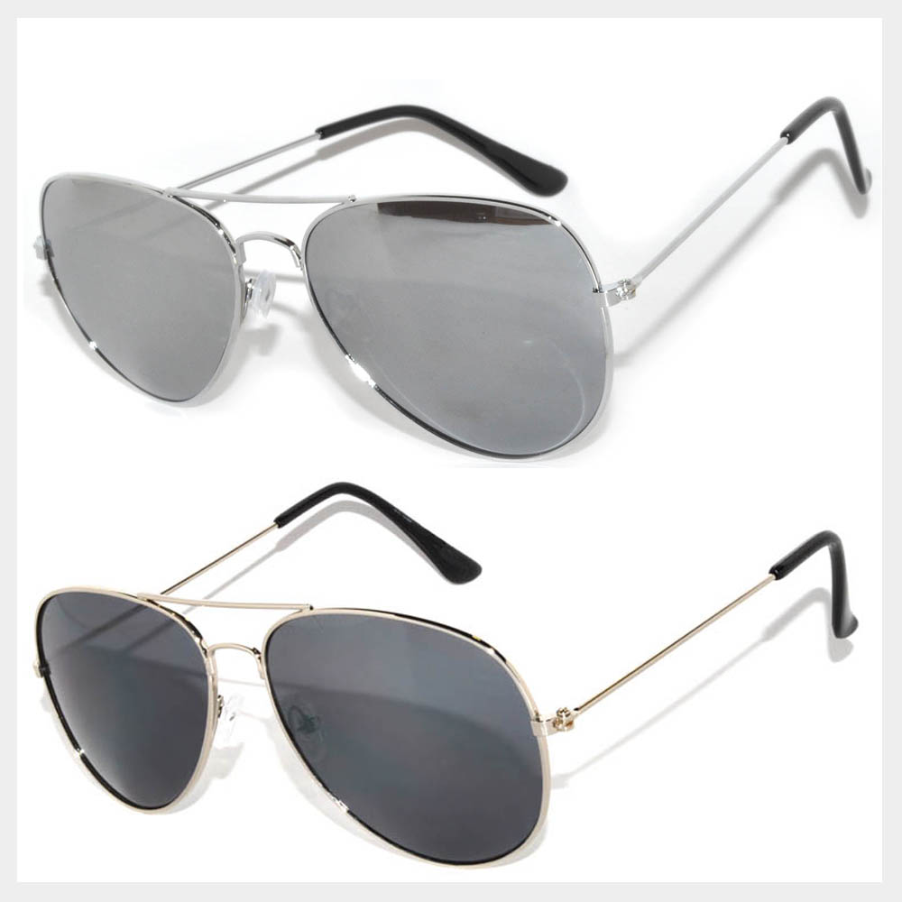 Silver Color Frame Sunglasses Wholesale