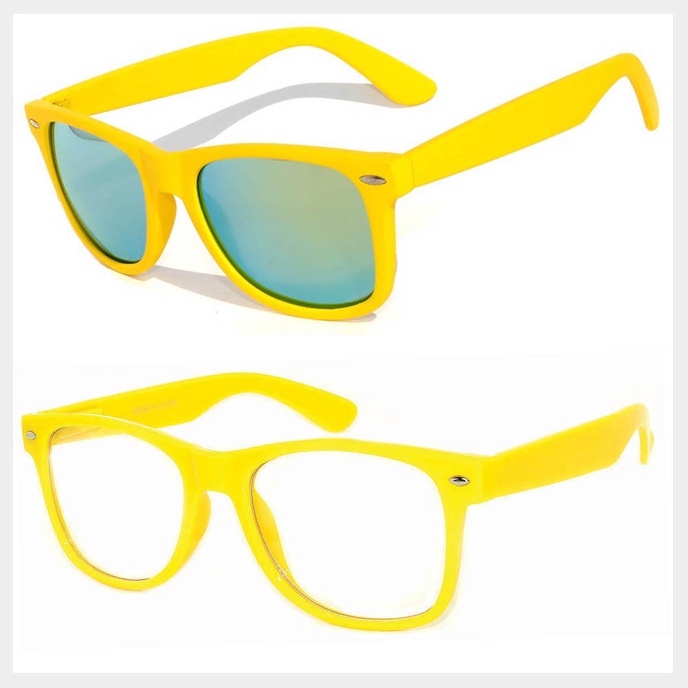 Yellow Frame Sunglasses Wholesale