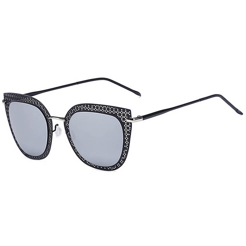 Designer sunglasses black mirror