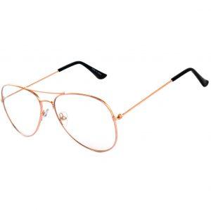 sunglasses_clear_aviator_gold