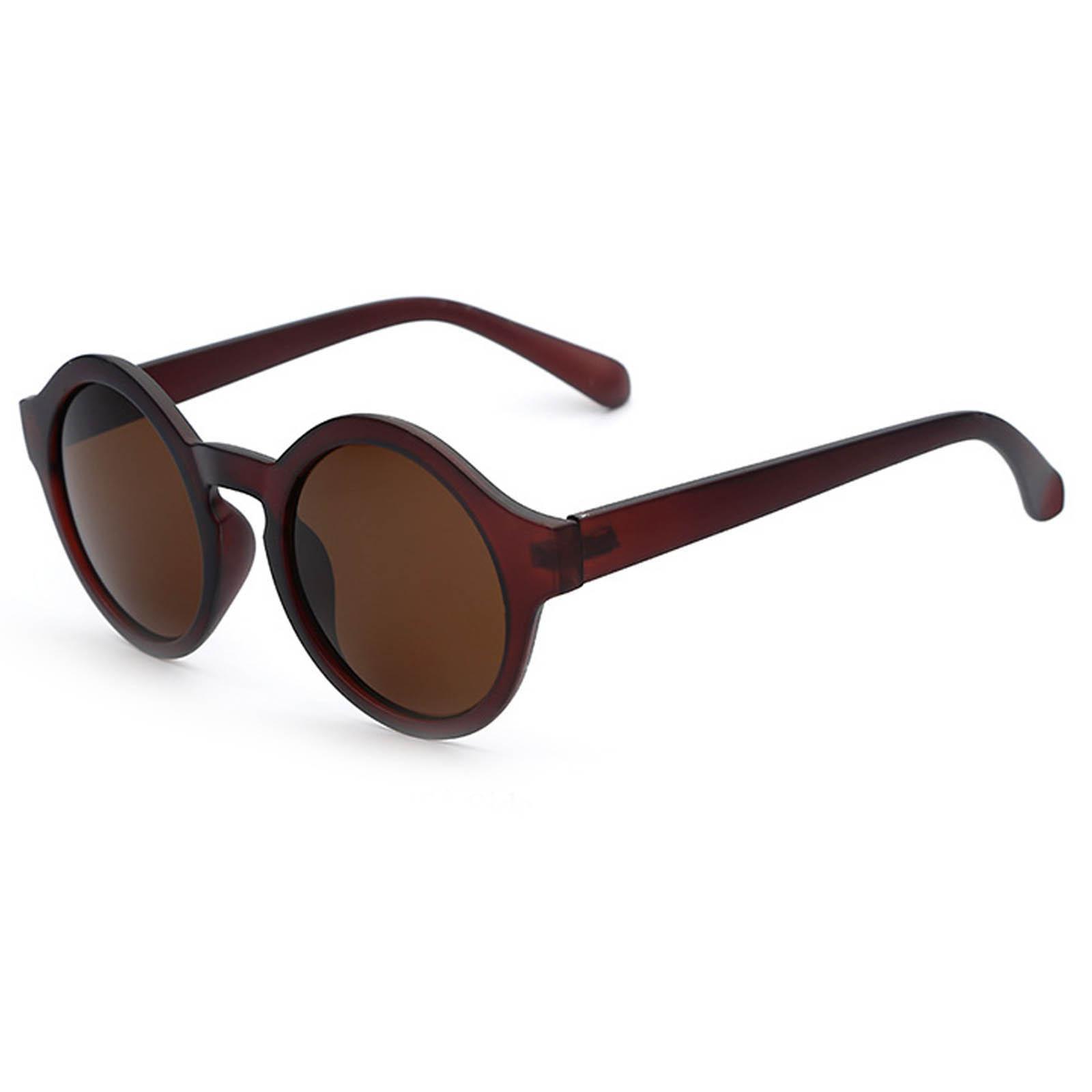 Circle Lens Sunglasses  owl 010 c7 round eyewear sunglasses women s men s plastic round