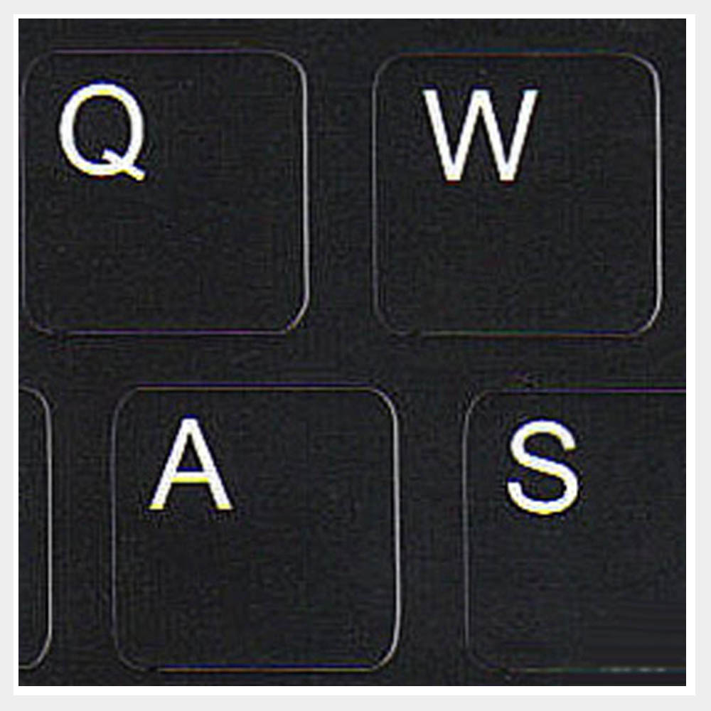 Danish keyboard lables for Notebook Mini