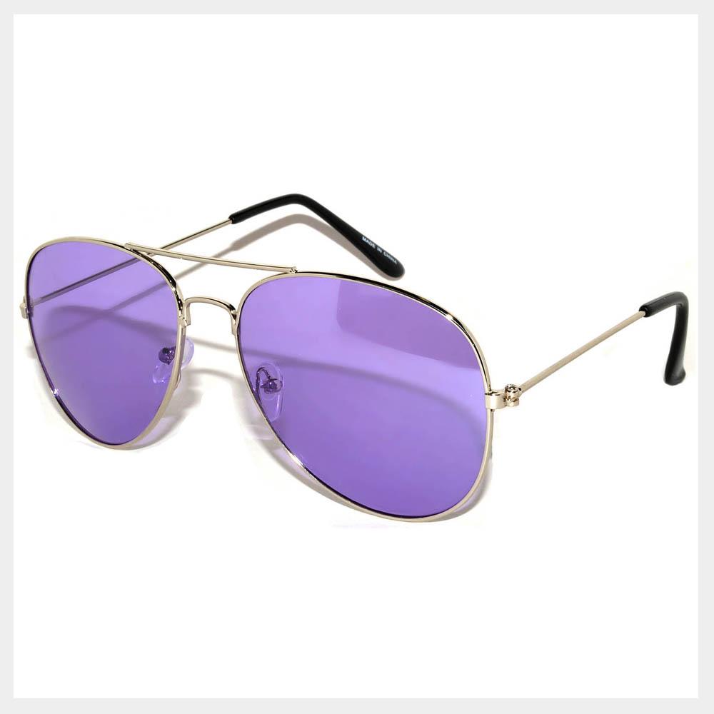 Purple Lens sunglasses