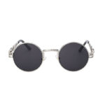 steampunk sunglasses silver black