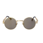 steampunk sunglasses men gold mirror buy online