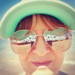 aviator rose gold light mirror sunglasses shop online